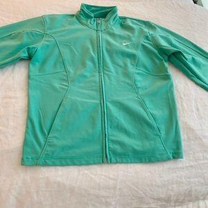 Nike mint medium jacket
